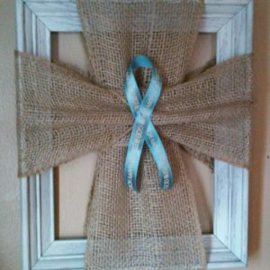 frame ribbon cross