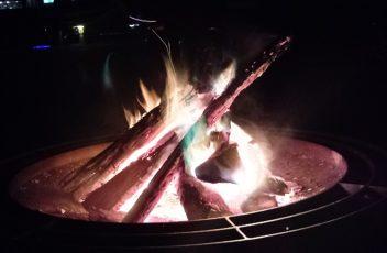 Virginia campfire